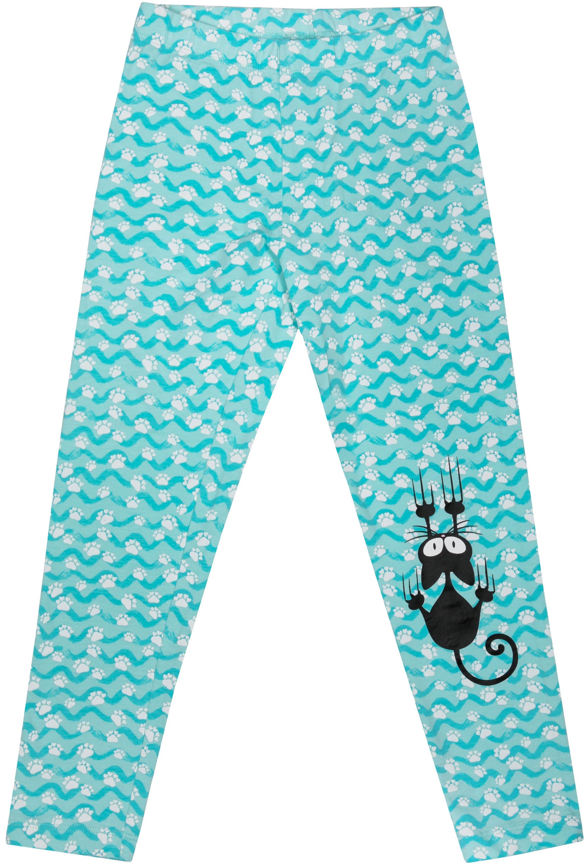 Легинсы Barkito Мартовские коты S18G3028J(2) футболка с длинным рукавом для девочки barkito мартовские коты белая