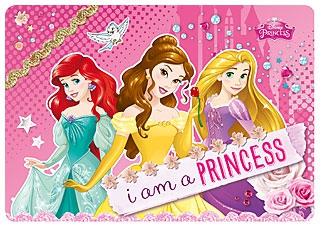 Канцелярия Princess Подкладка на стол Disney Princess для занятий творчеством