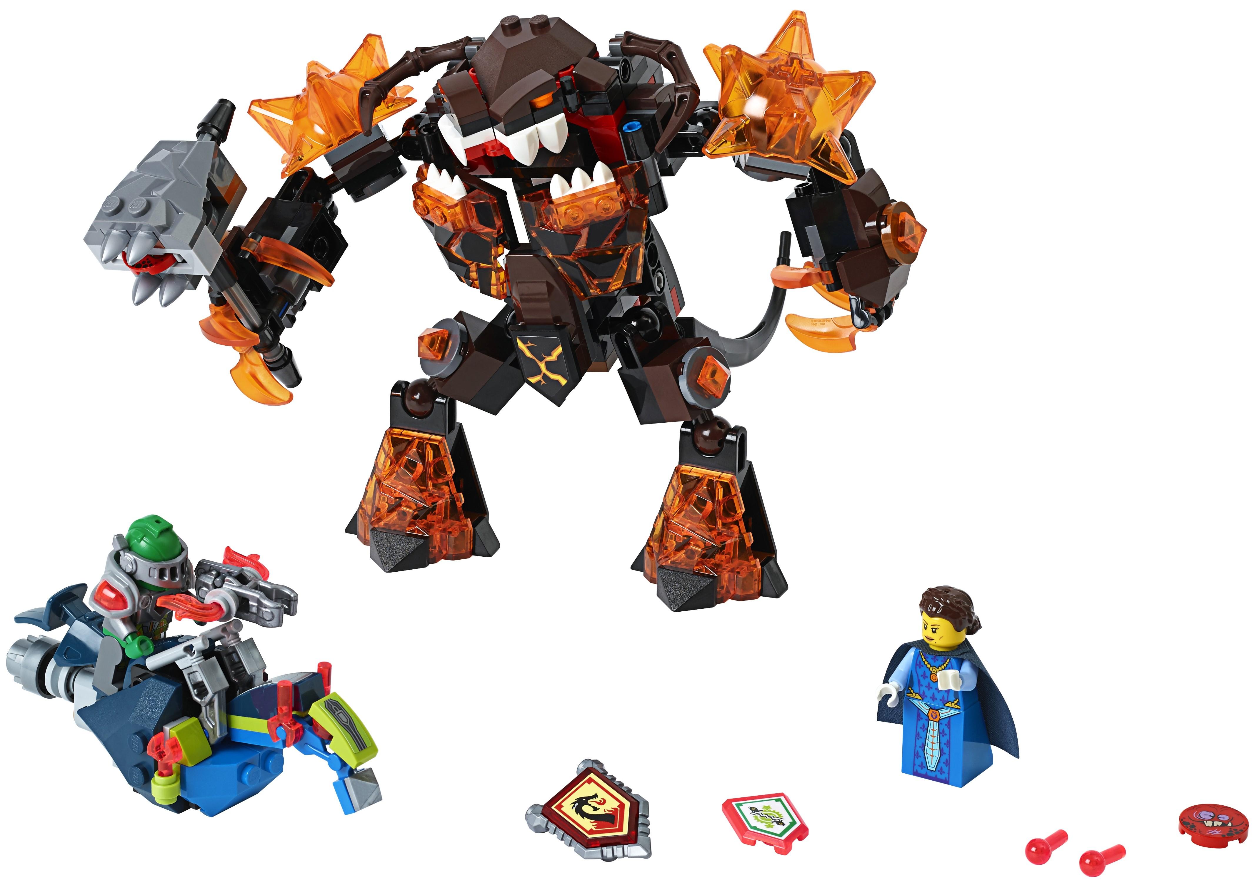 Конструктор LEGO Nexo Knights Инфернокс и захват королевы (70325) цена