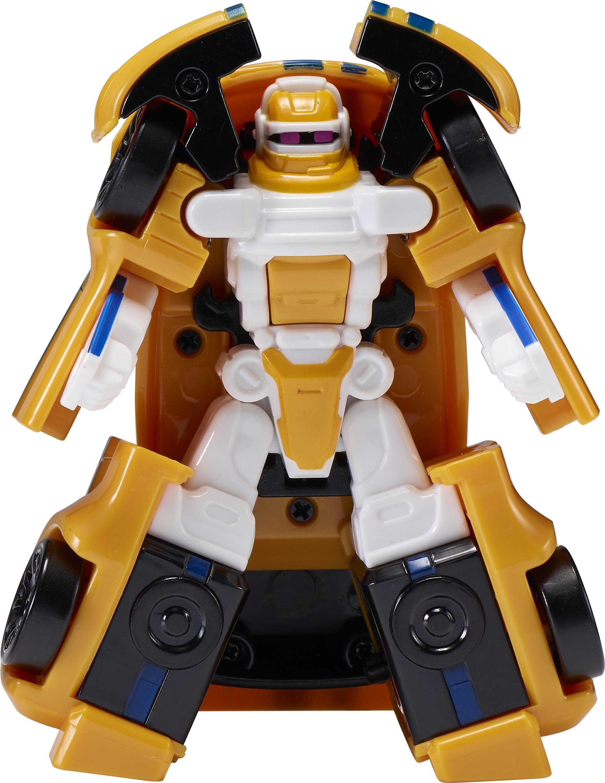 робот-трансформер Tobot Атлон Тета мини S1 желтый с белым yako робот трансформер цвет желтый зеленый