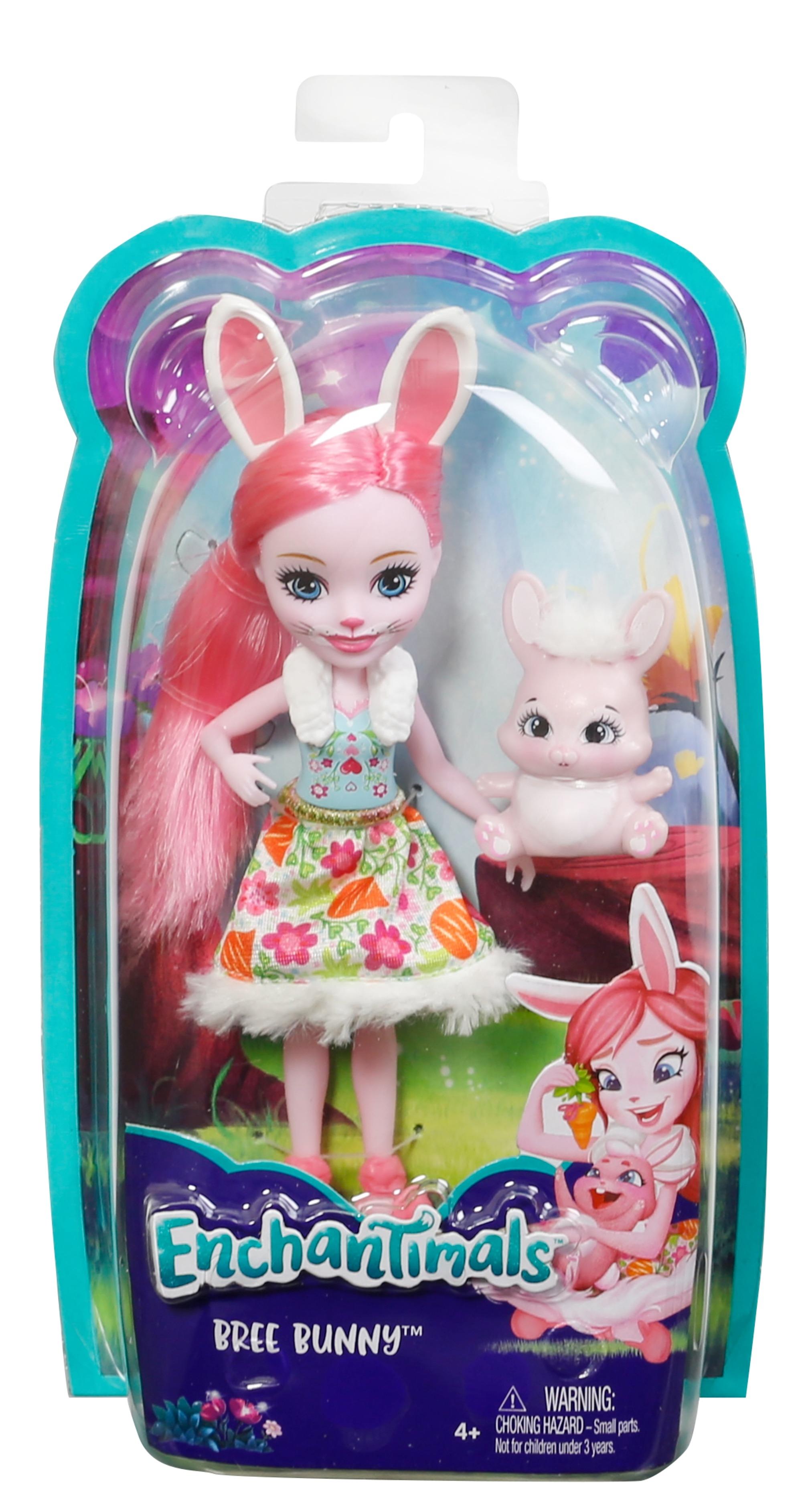 Кукла Enchantimals Mattel Со зверюшкой кукла enchantimals с любимой зверюшкой dvh87 fnh22 кейли коровка