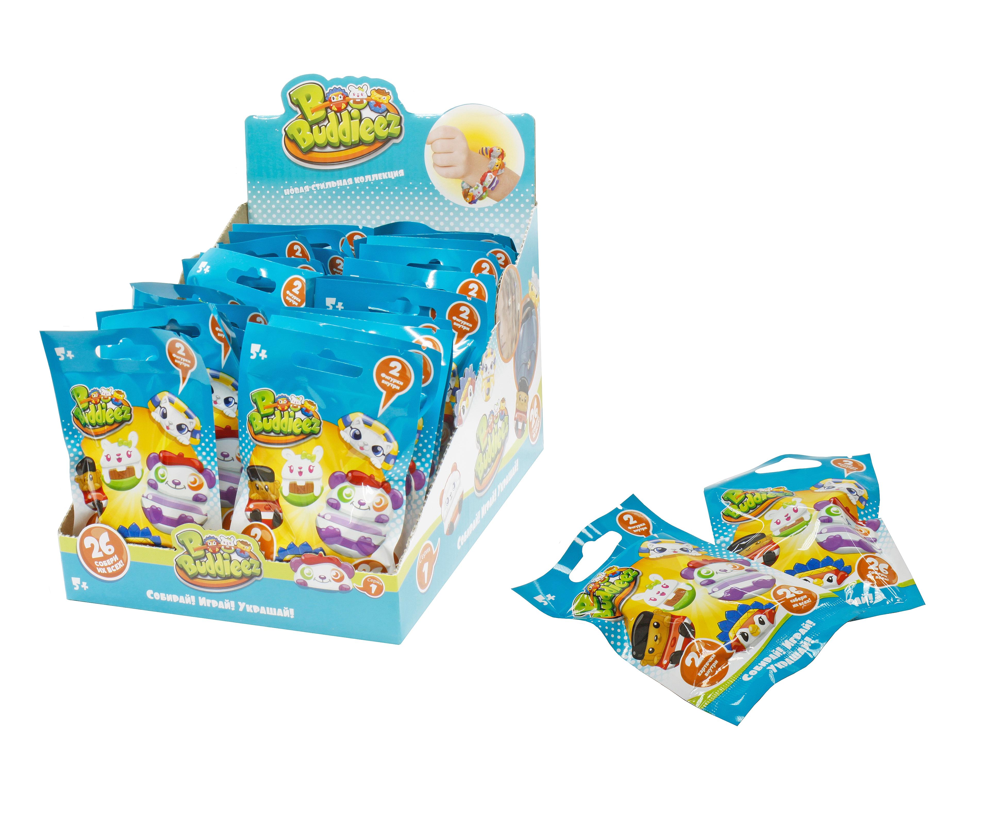 Украшения 1toy Набор 1TOY «Bbuddieez» с 2 шармами и 2 карточками в закрытом пакете 1toy набор bbuddieez оранжевый домик для хранения с подвеской 3 шарма персонажа 1toy