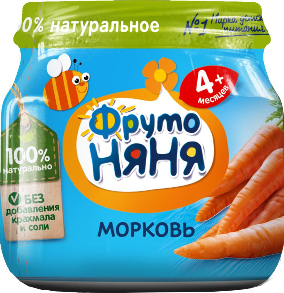 цена на Пюре Прогресс ФрутоНяня Из моркови (с 4 месяцев) 80 г
