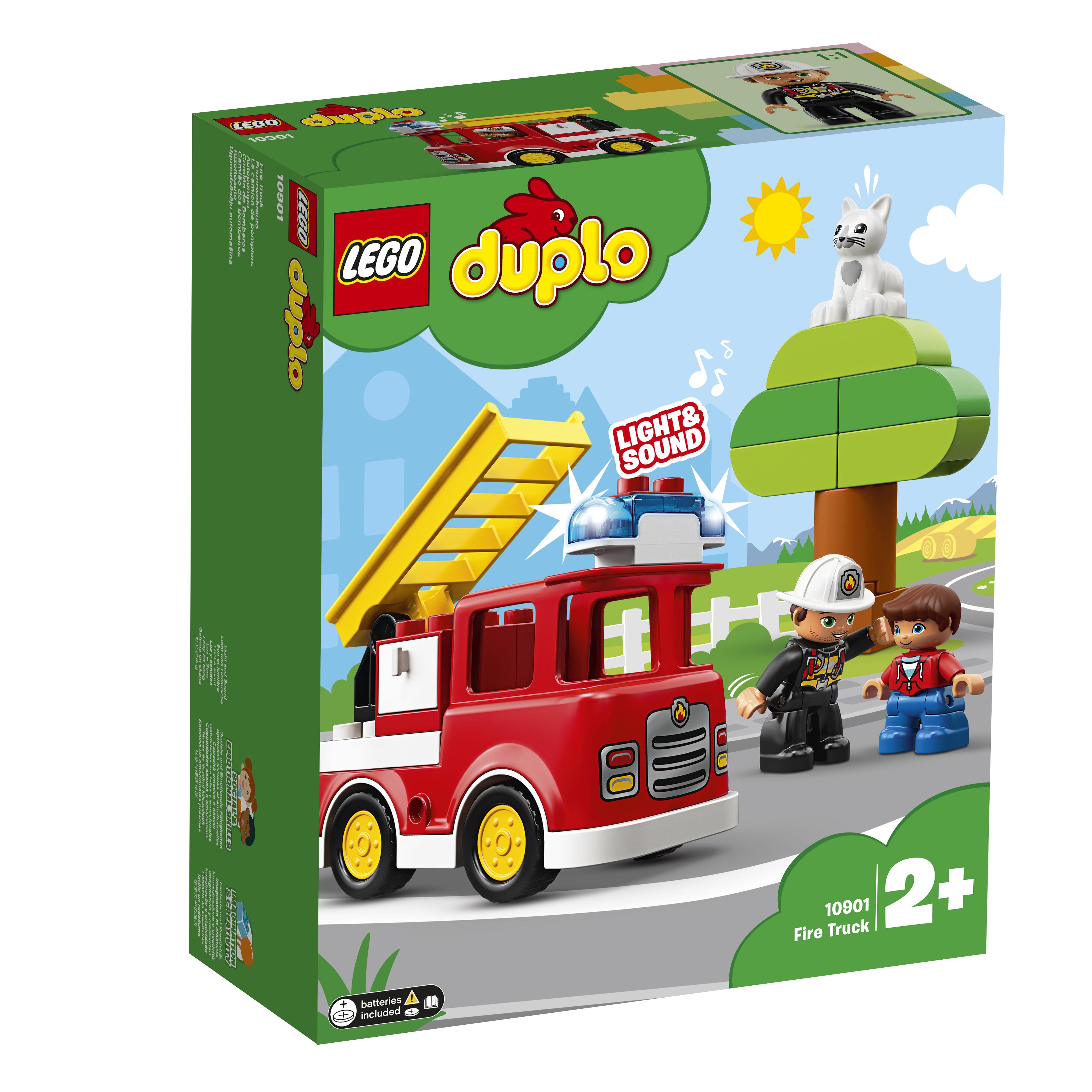 LEGO DUPLO LEGO Town 10901 Пожарная машина lego duplo конструктор гоночный автомобиль 10589