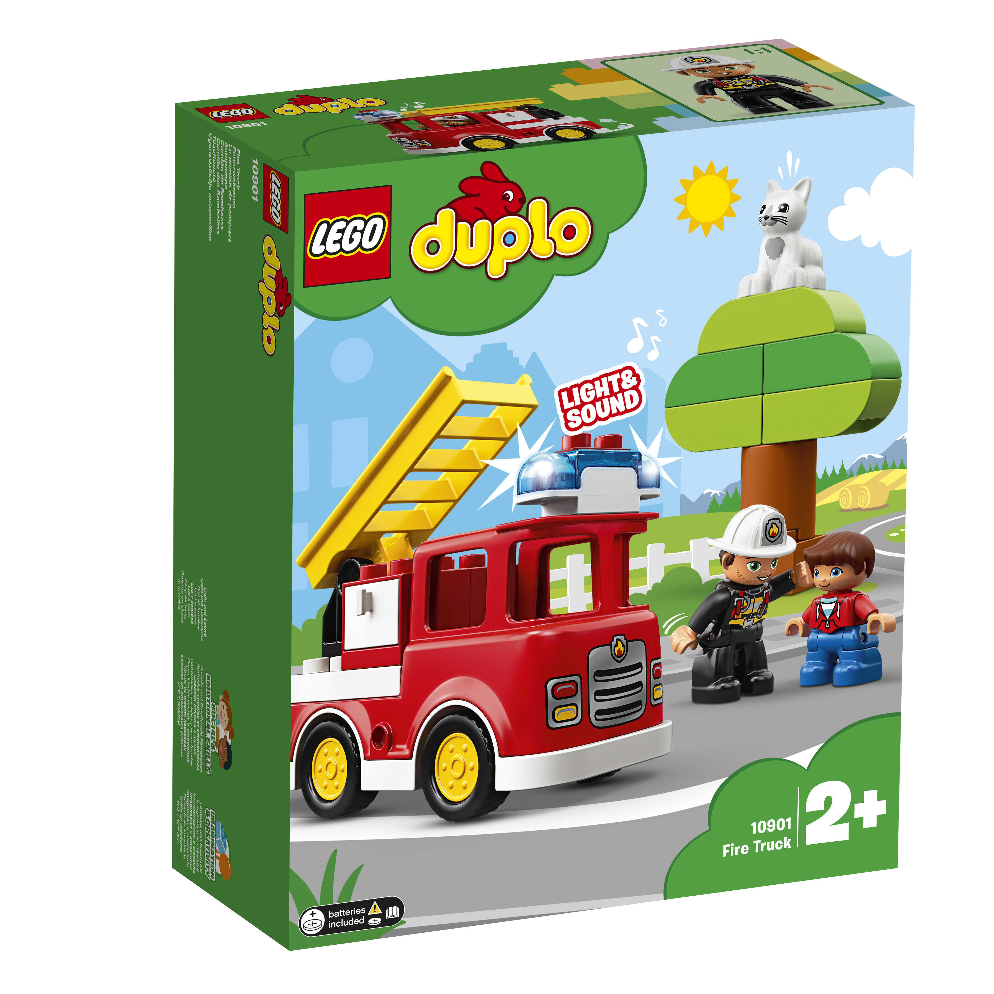 LEGO DUPLO  Конструктор   Town 10901 Пожарная машина
