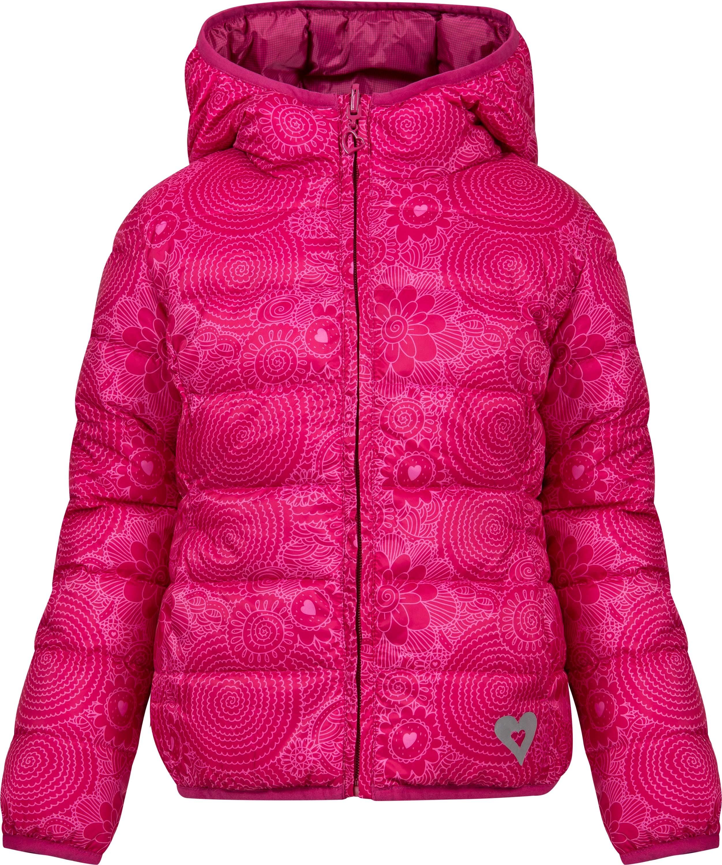 Купить Куртки, Куртка утепленная двухсторонняя для девочки Barkito, розовая/темно-розовая, Китай, розовый/темно-розовый, Женский