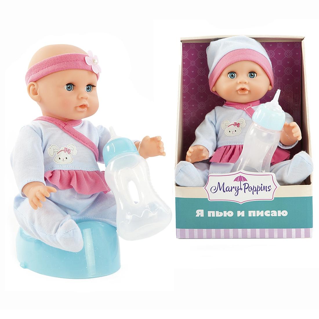Кукла Наша игрушка Я пью и писаю Минни