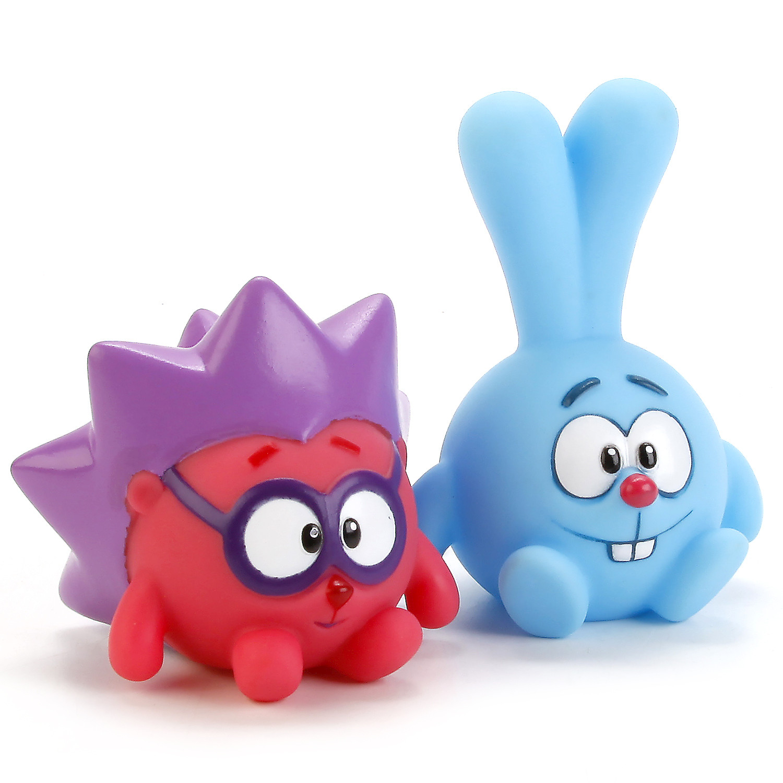 Игрушки для ванны Играем вместе Набор игрушек для ванны Играем вместе «Смешарики: Крош и Ежик» набор игрушек для ванны играем вместе джейк и скалли