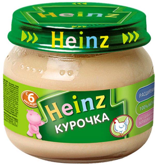 Пюре Heinz Heinz Курочка (с 6 месяцев) 80 г пюре heinz чернослив с 5 мес 80 г