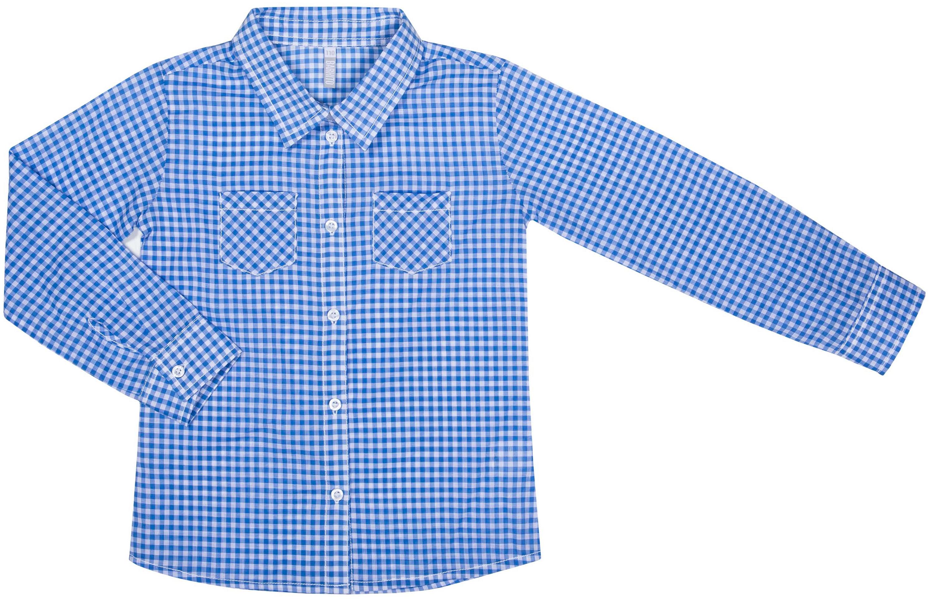 Блузка для девочки Barkito Северные приключения 1 блузка в клетку с воланами и длинными рукавами check