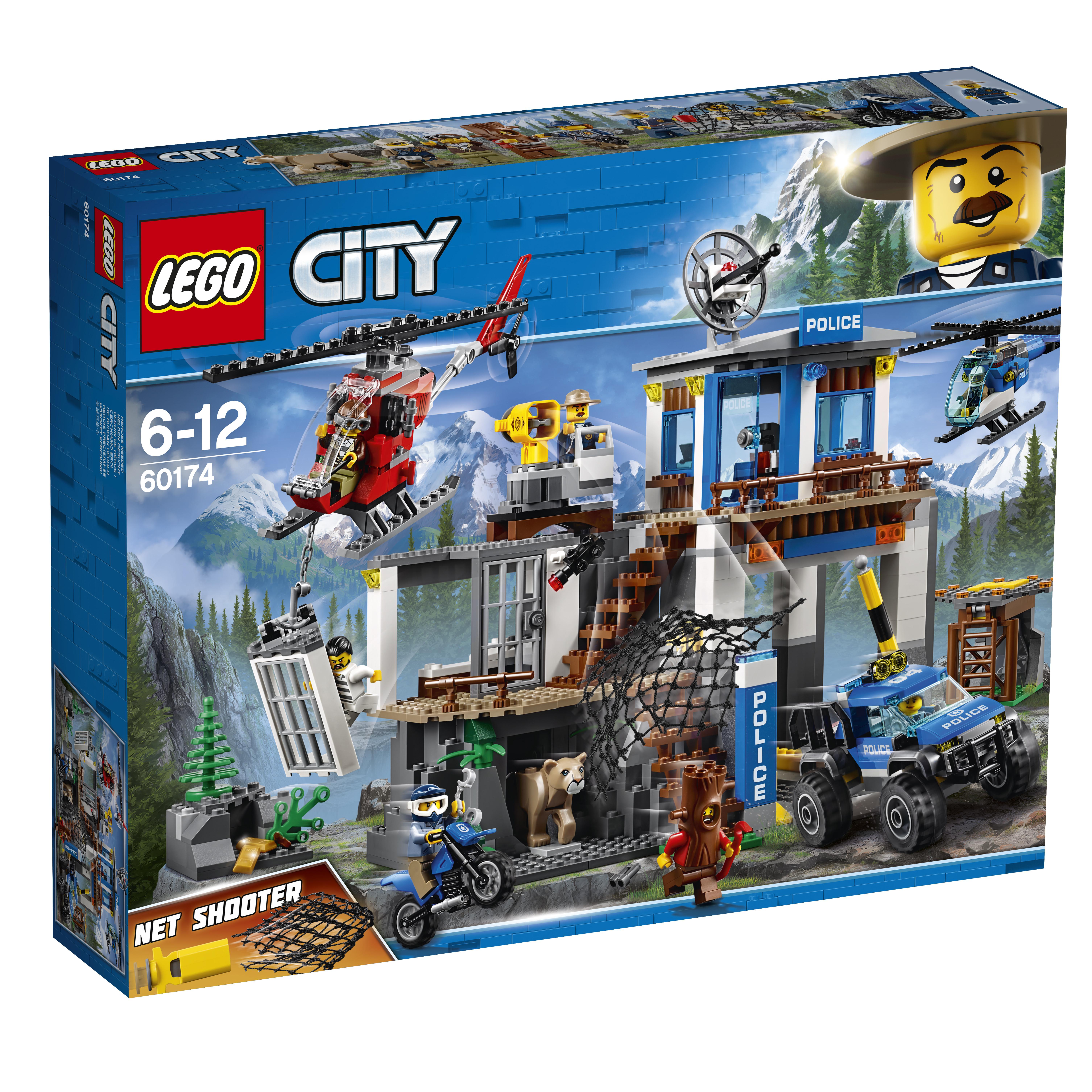Купить LEGO, City Police 60174 Полицейский участок в горах, Венгрия