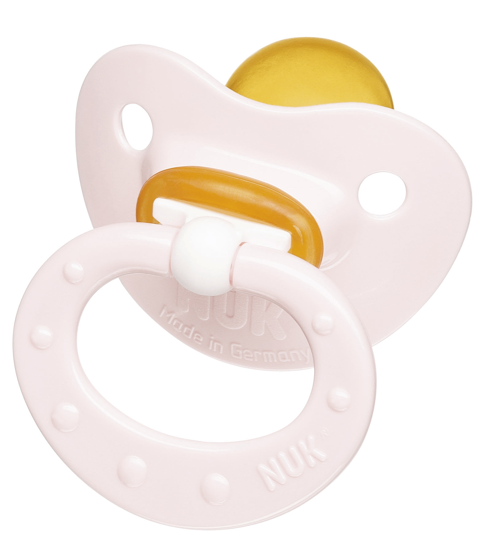 Пустышка NUK Baby Rose ортодонтическая для сна с рождения (латекс) пустышка силиконовая для сна nuk freestyle