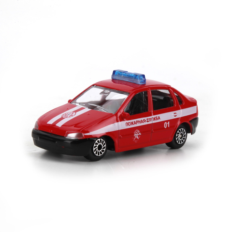 Купить Игрушечная машинка, Пожарная служба, 1шт., Технопарк 173828, Китай, Мужской