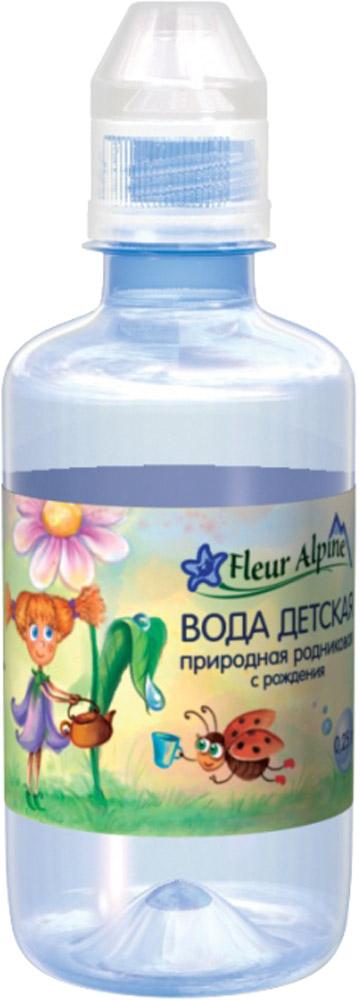 Вода Fleur Alpine Fleur Alpine с рождения 0,25 л fleur alpine organic вода детская питьевая с рождения 0 25 л