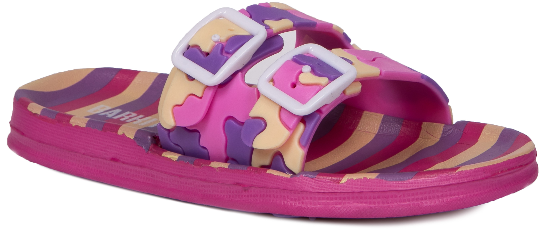 Купить Сланцы (пляжная обувь), 204033, Barkito, Китай, сиренево-розовый, Женский