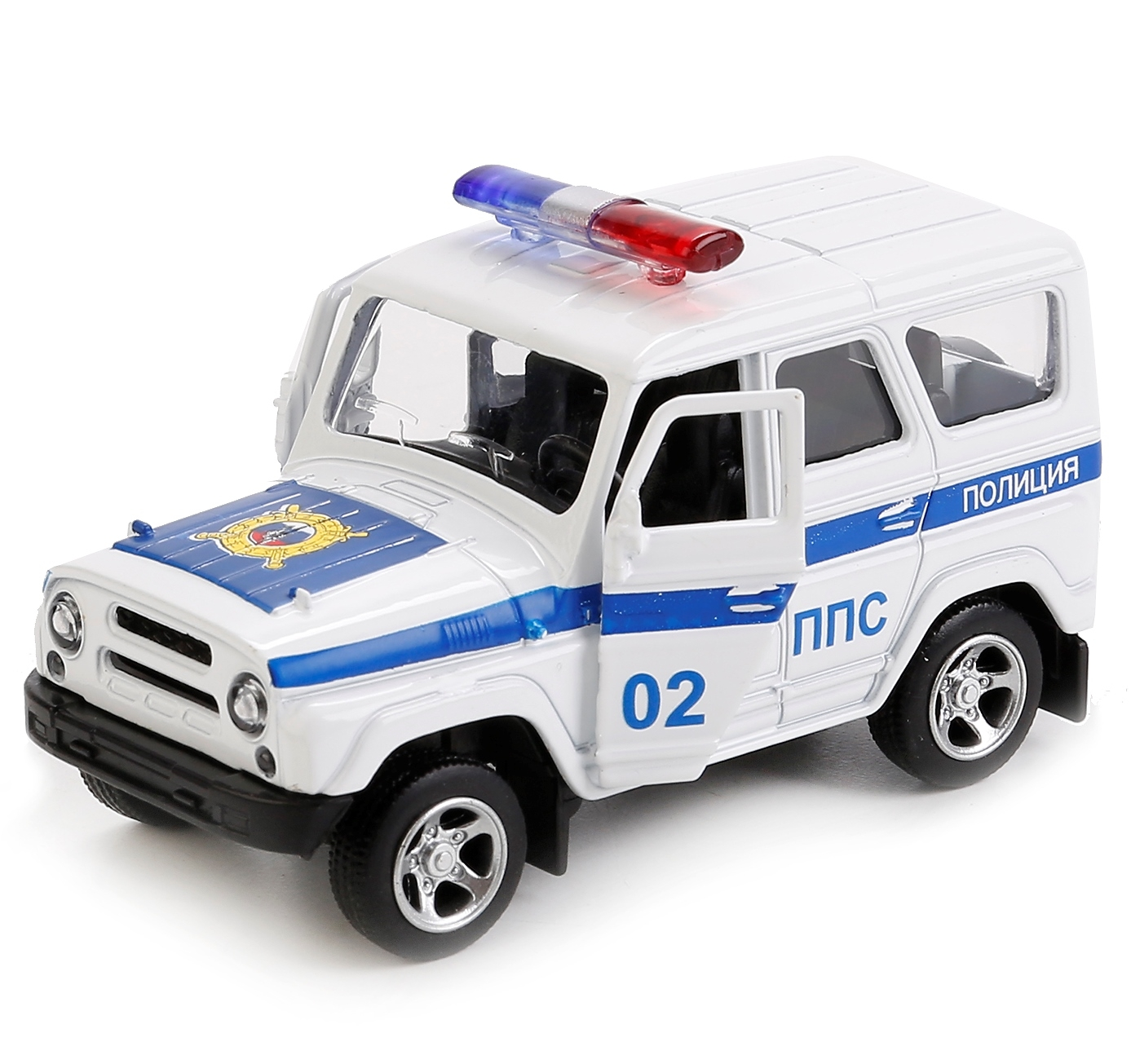 Технопарк УАЗ Hunter Полиция 8,5 см 187210 сумка marks