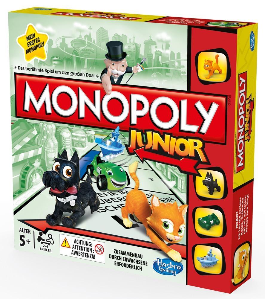 Настольная игра Hasbro Моя первая монополия настольная игра для вечеринки hasbro монополия моя первая игра a6984h