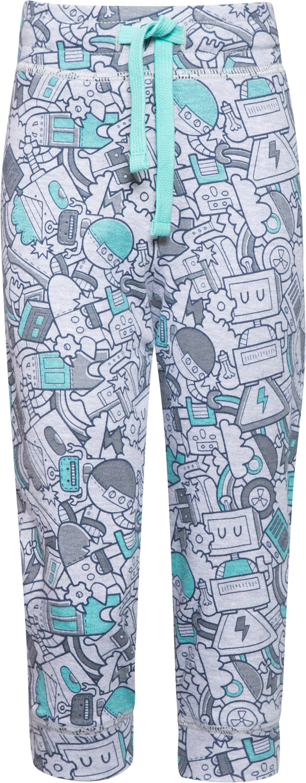 Брюки Barkito Брюки трикотажные для мальчика Barkito Робот, серые брюки barkito брюки трикотажные для мальчика barkito супер baby серые с рисунком