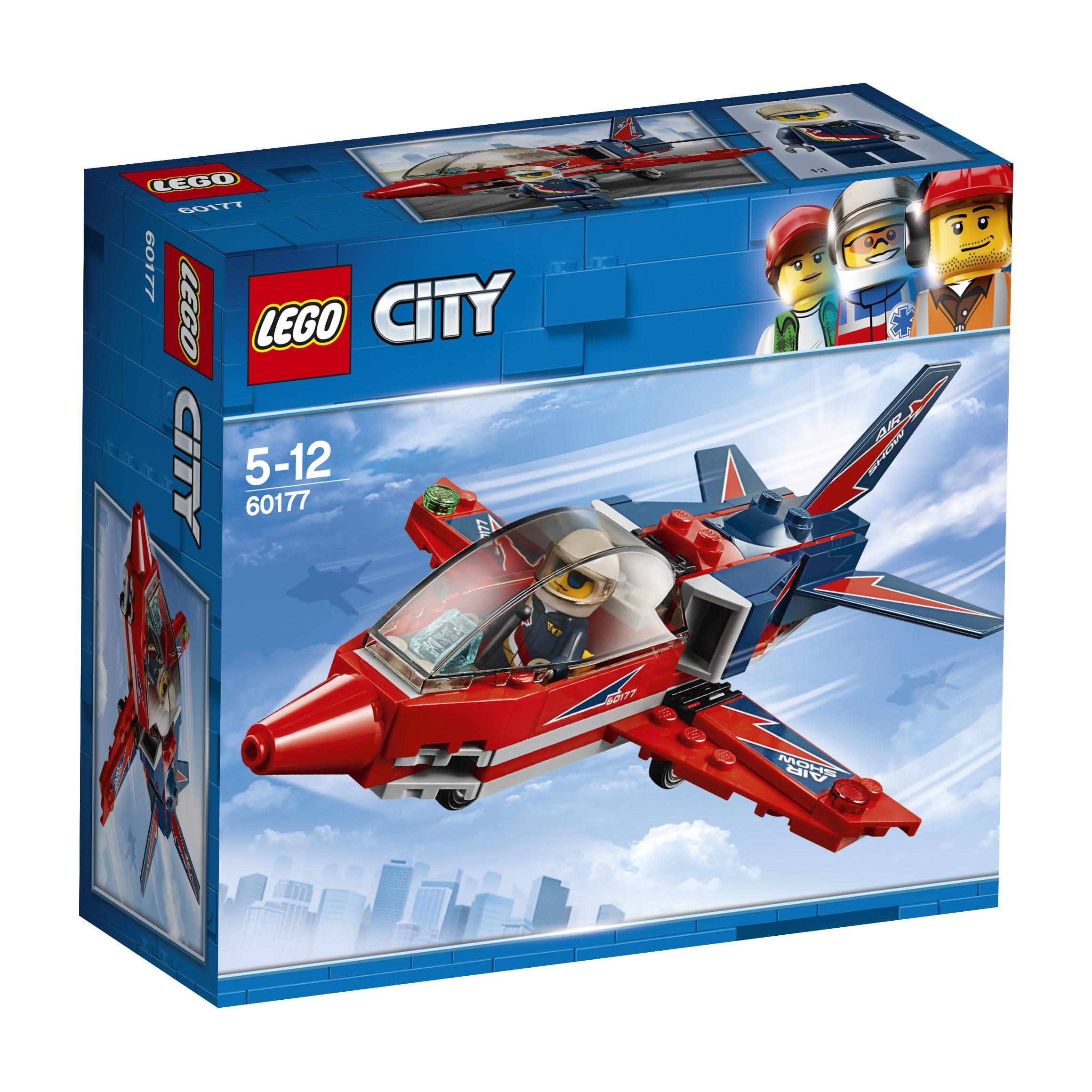 Конструктор LEGO City Great Vehicles 60177 Реактивный самолёт конструкторы lego lego city great vehicles рыболовный катер 60147