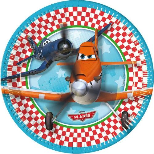 Посуда и скатерти Procos Самолеты 20 см 8 шт. маски procos 84078 самолеты
