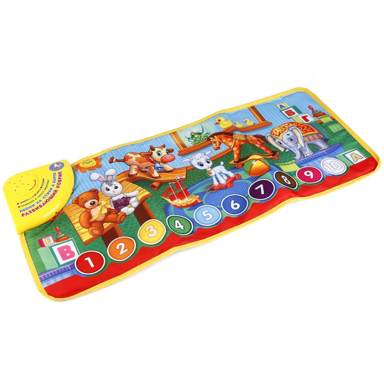 Развивающие игрушки Умка Развивающий коврик Умка А.Барто fisherprice развивающий коврик пианино