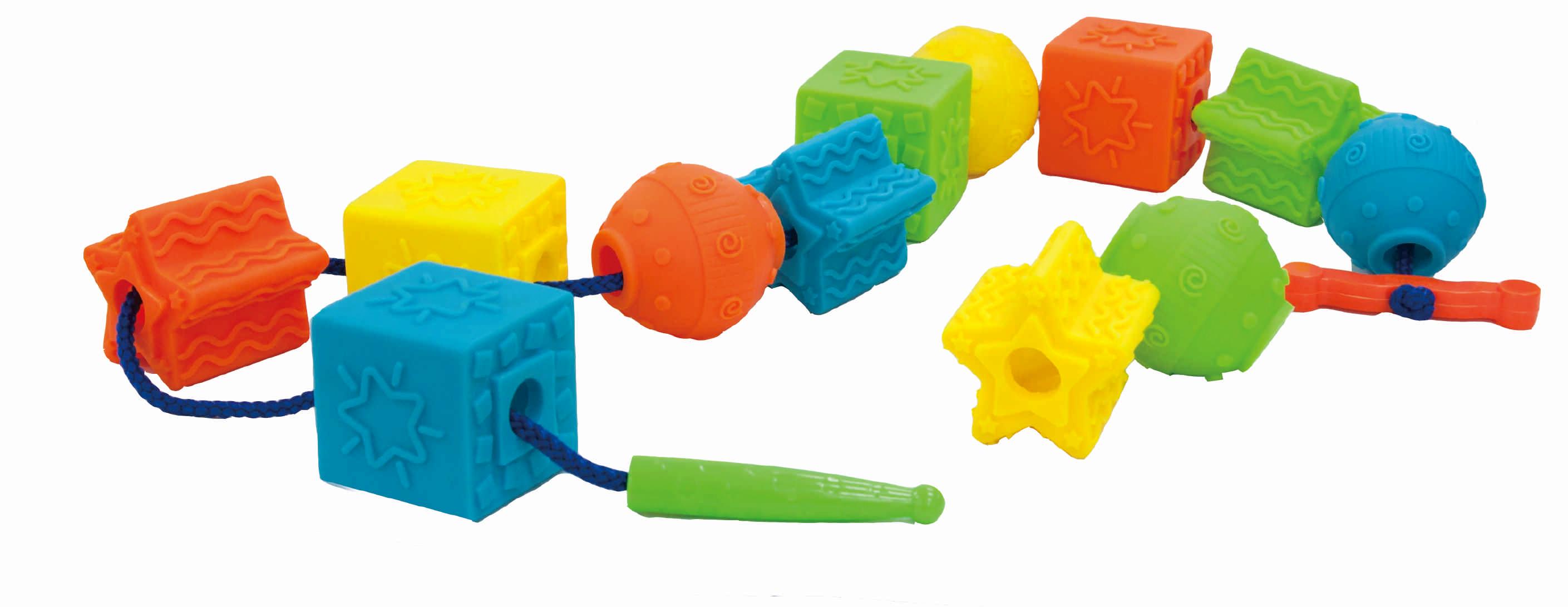 Обучающие Little Hero Развивающая игрушка Little Hero «Гигантские бусы» novus 4 26