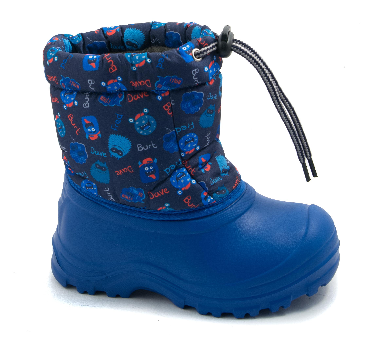 Купить со скидкой Сапоги малодетско-дошкольные для мальчика Детский Скороход, синие