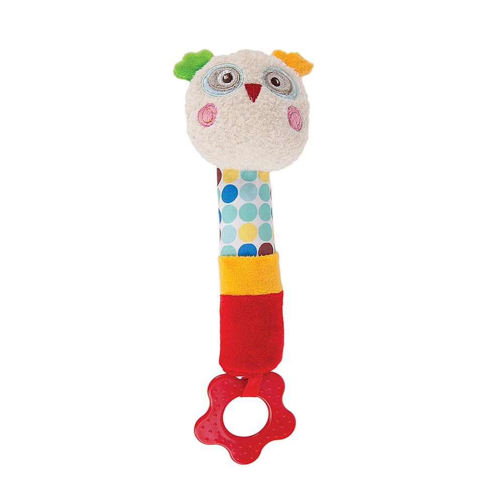 Погремушка Наша игрушка Совёнок Бонни подвеска с вибрацией совёнок бонни
