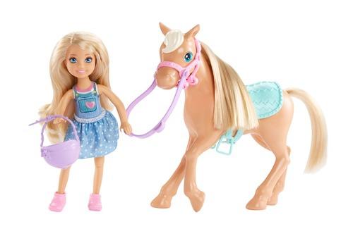Barbie Barbie Челси и пони