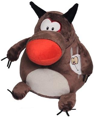 Мягкие игрушки СмолТойс Волк-шарик классические смолтойс заяц шарик