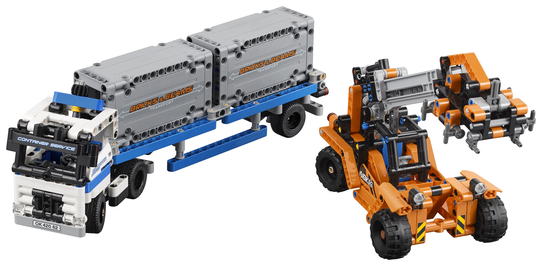 Купить LEGO, Technic 42062 Контейнерный терминал, Дания