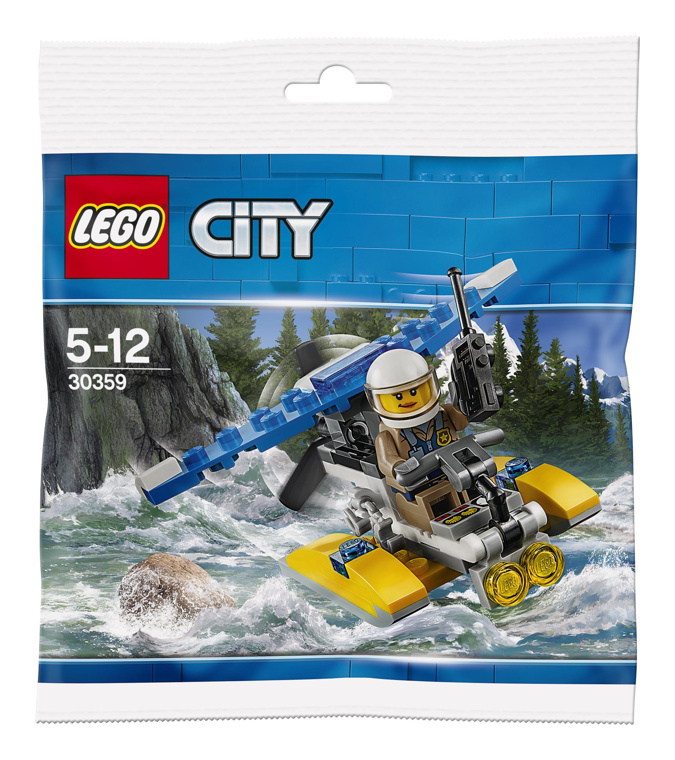 LEGO LEGO Конструктор LEGO 30359 Полицейский гидроплан lego lego creator 31028 гидроплан