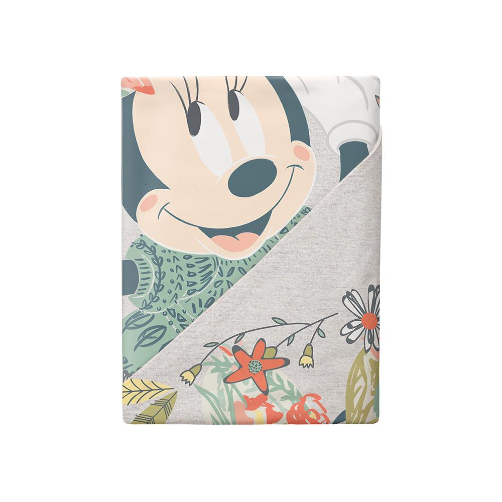 Постельные принадлежности MINNIE Комплект постельного белья Minnie «Mickey gray» полутороспальный наволочка 50х70 см комплект постельного белья полутороспальный унисон орнелла