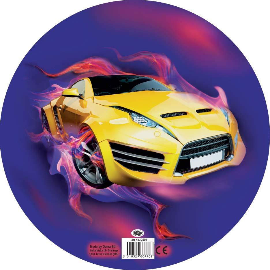 Купить Мячи, Машинка 23 см, Dema-Stil, Македония, разноцветный, Мужской