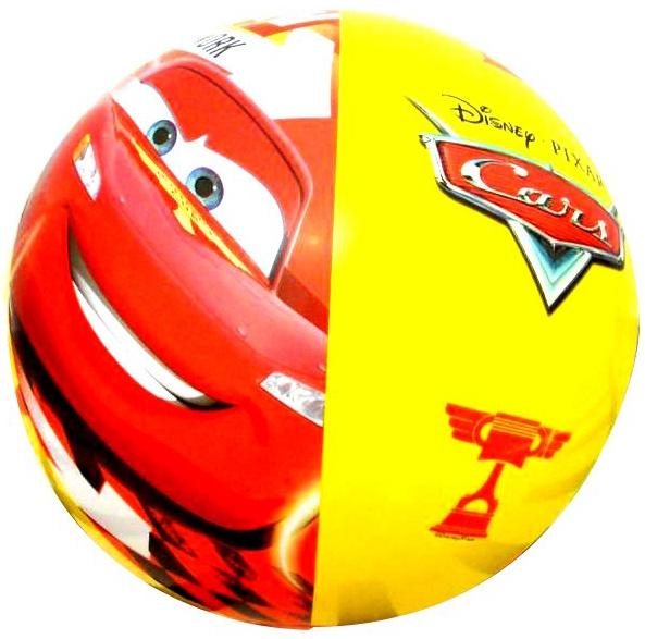 Мяч надувной INTEX Disney. Cars 61 см цена