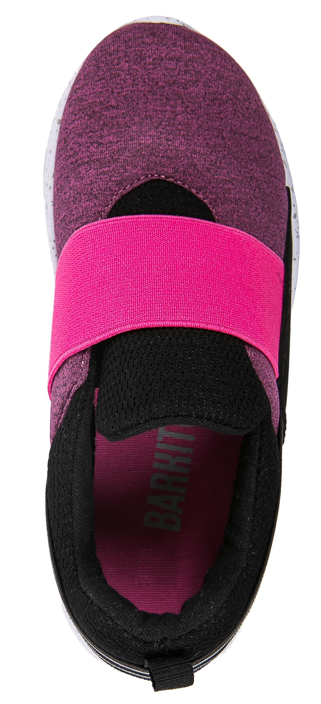 Ботинки и полуботинки Barkito Полуботинки типа кроссовых для девочки Barkito, фуксия полуботинки типа кроссовых для девочки barkito розовый