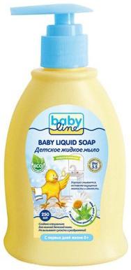 Мыло жидкое BABYLINE Nature 250 мл fa жидкое крем мыло youghurt алоэ вера 250 мл жидкое крем мыло youghurt алоэ вера 250 мл 250 мл