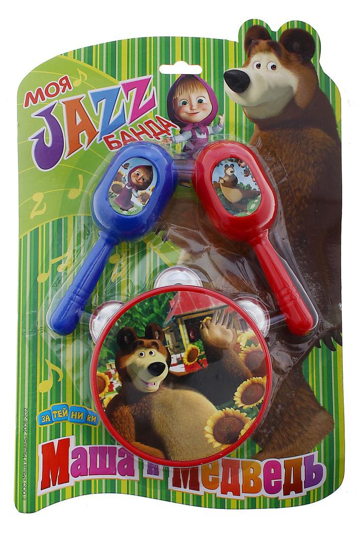 Набор музыкальных инструментов Играем вместе Маша и Медведь