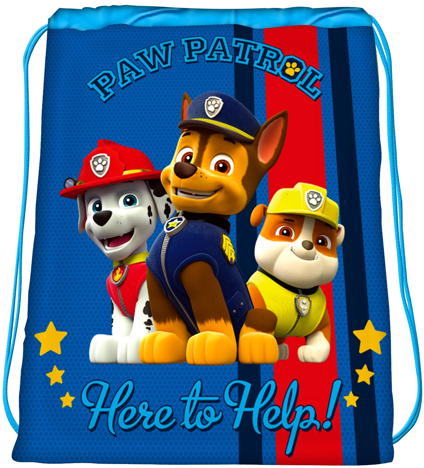 Рюкзаки и мешки для сменки Paw Patrol Мешок для обуви Paw Patrol для мальчика