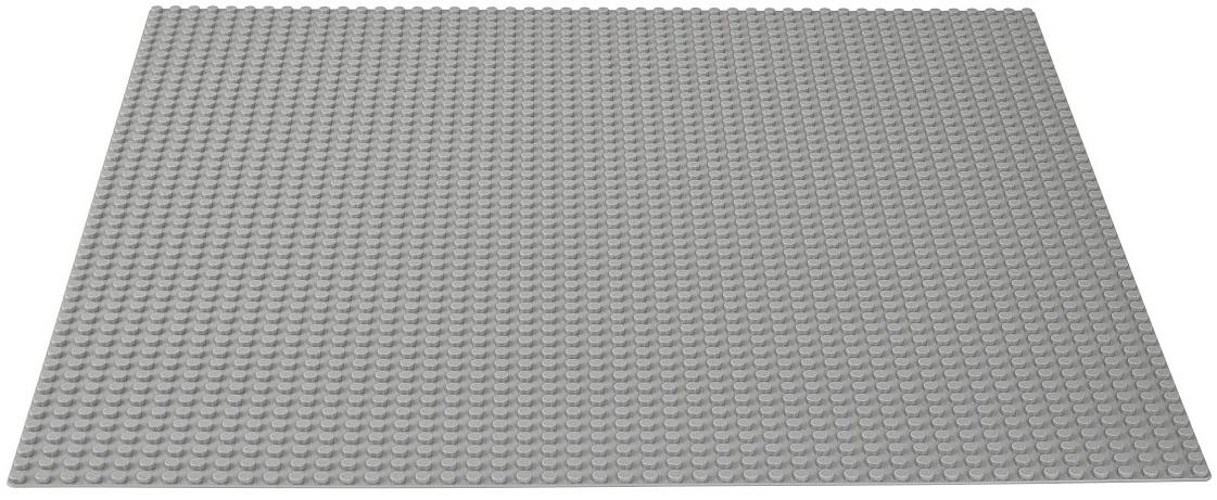 LEGO  Classic Строительная пластина серого цвета