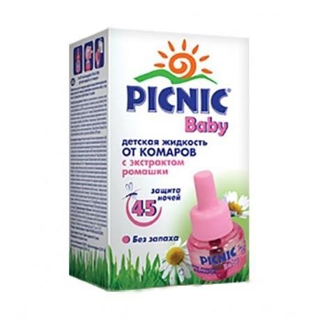 Жидкость от комаров Picnic 45 ночей от комаров в квартире