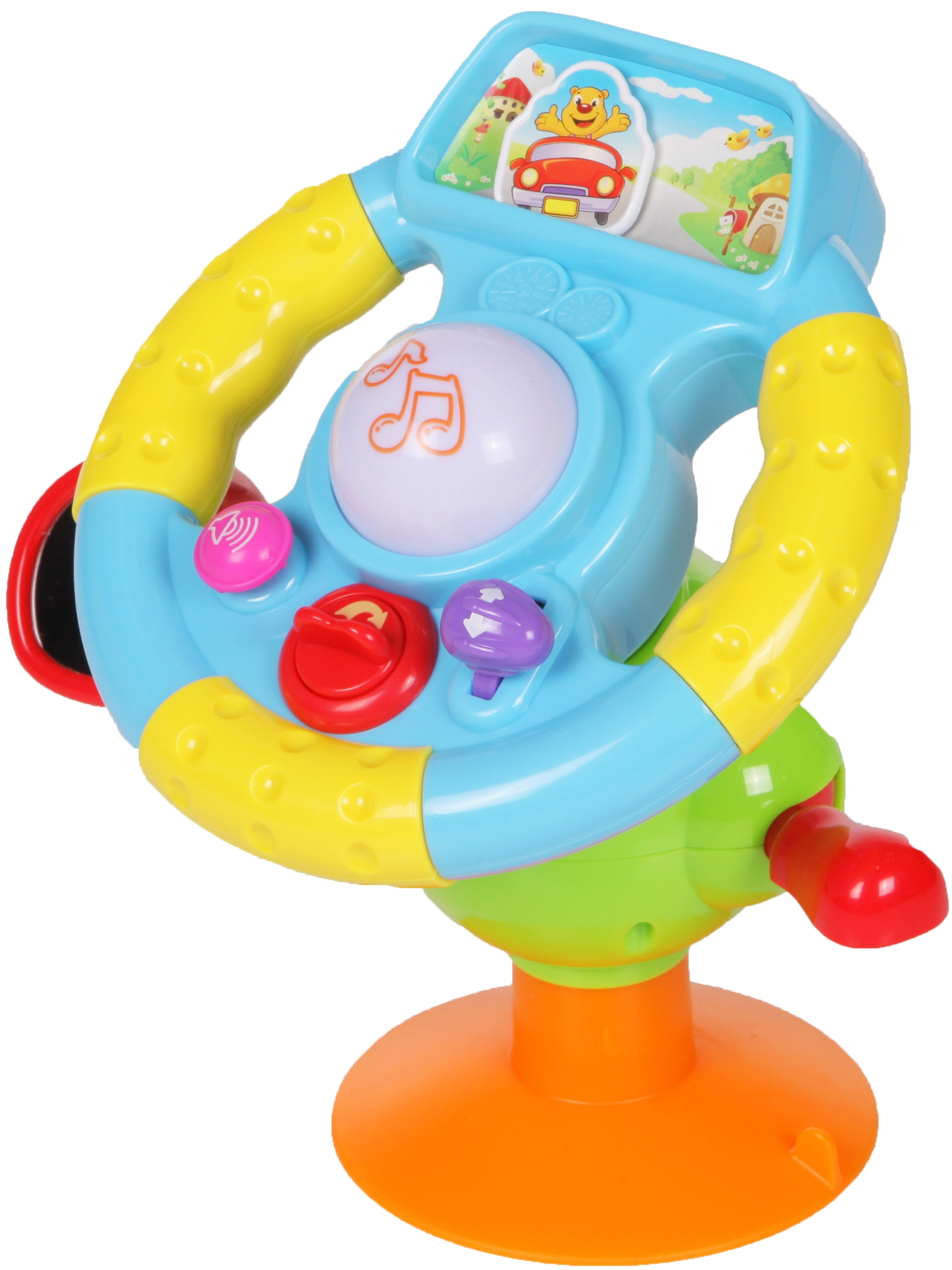 Развивающие игрушки YAKO Музыкальный руль большой Y61165