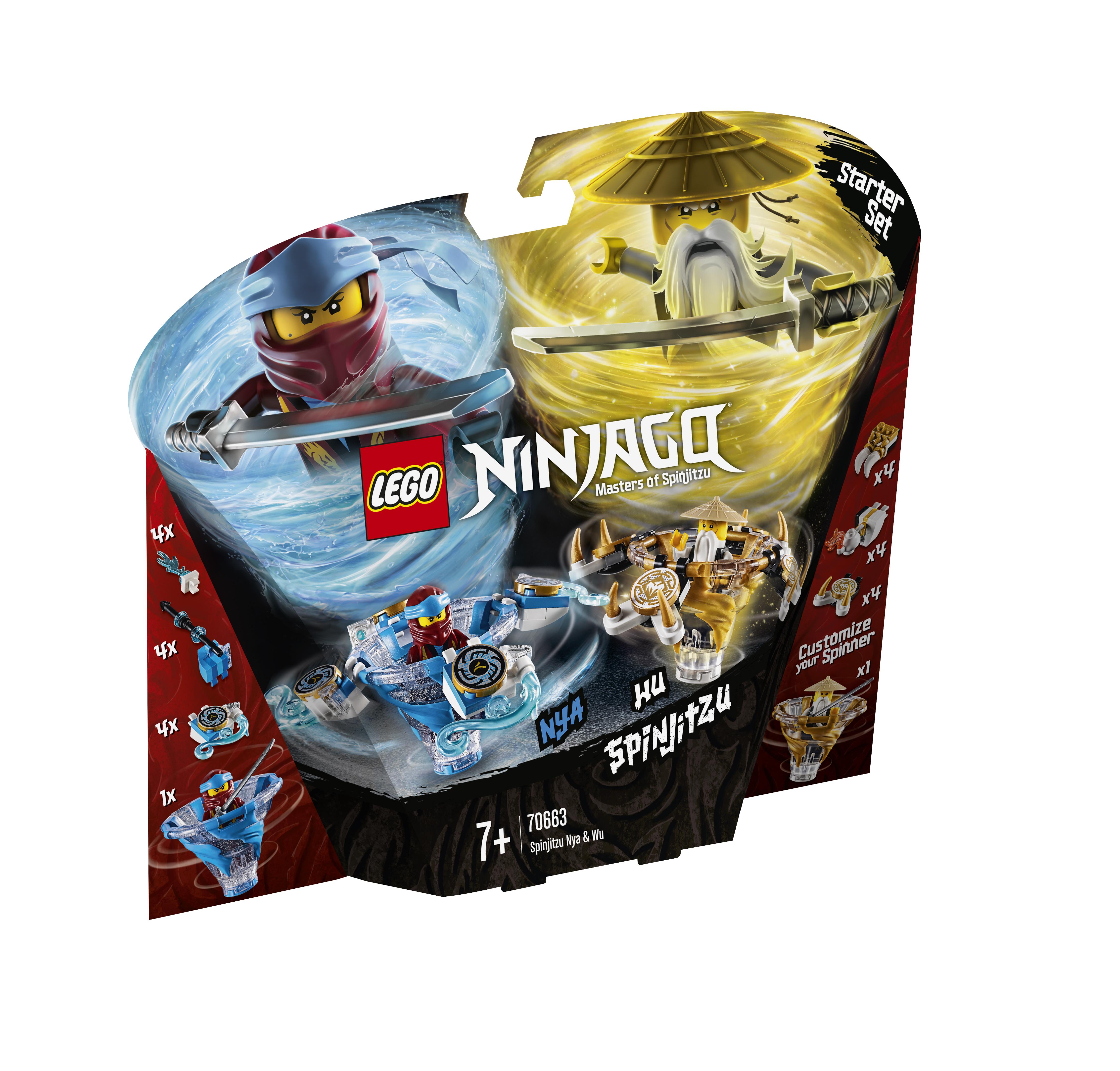 Конструктор LEGO Ninjago 70663 Ния и Ву: мастера Кружитцу констр р lego ninjago битва гармадона и мастера ву