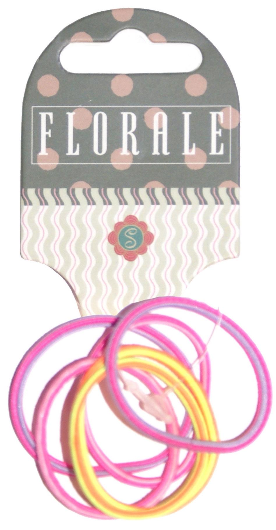 Украшения Florale Резинка для волоc Florale тонкая 6 шт. в ассортименте украшения florale резинка для волоc florale 4 шт в ассортименте