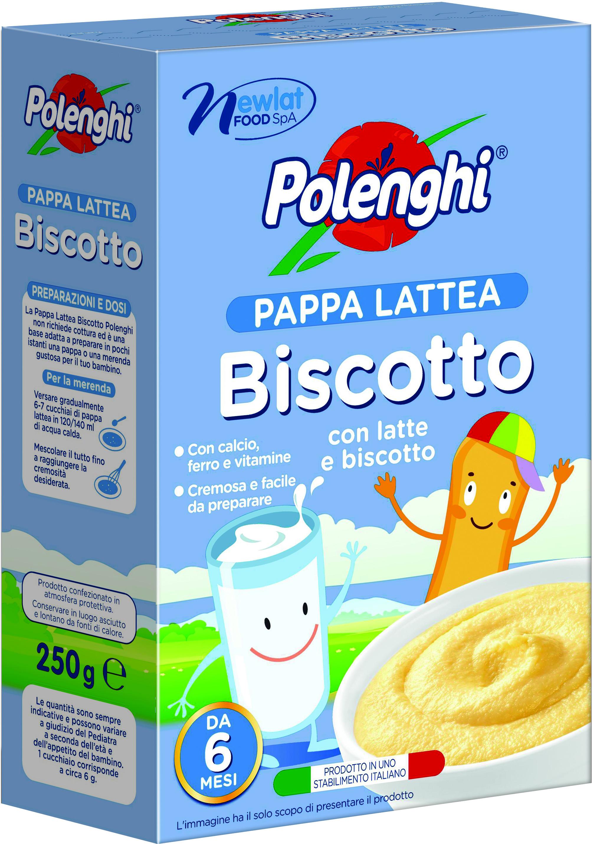 Каша Polenghi молочная пшеничная с печеньем с 6 мес. 250 г макаронные изделия polenghi risini ризони без глютена с 10 мес 350 г