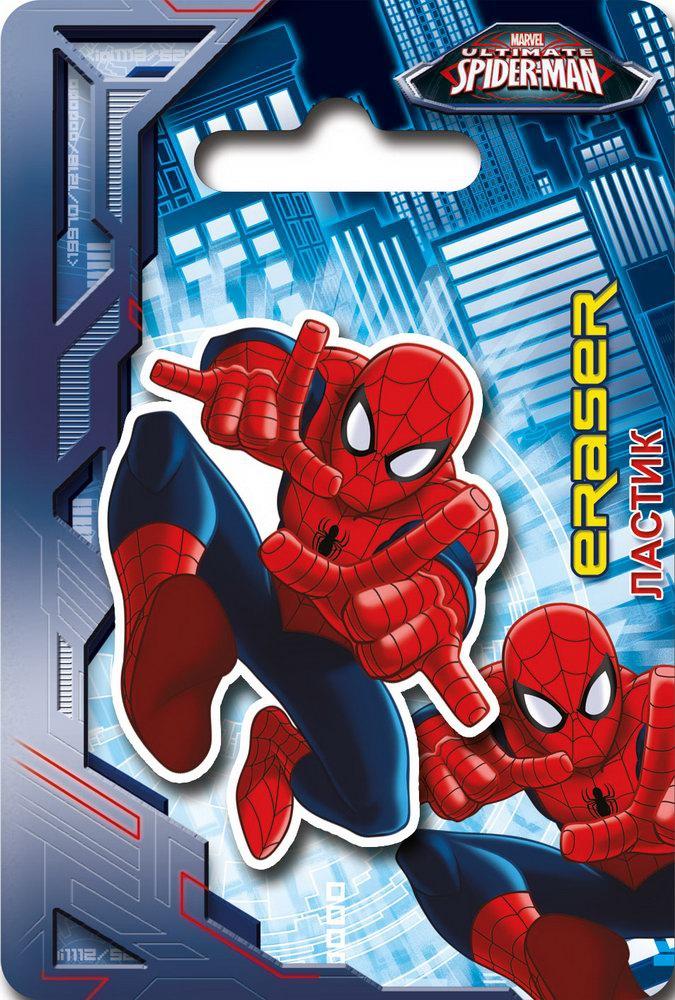 Канцелярия Spider-man Ластик Spider-Man ручки и карандаши spider man набор цветных карандашей spider man 12 шт
