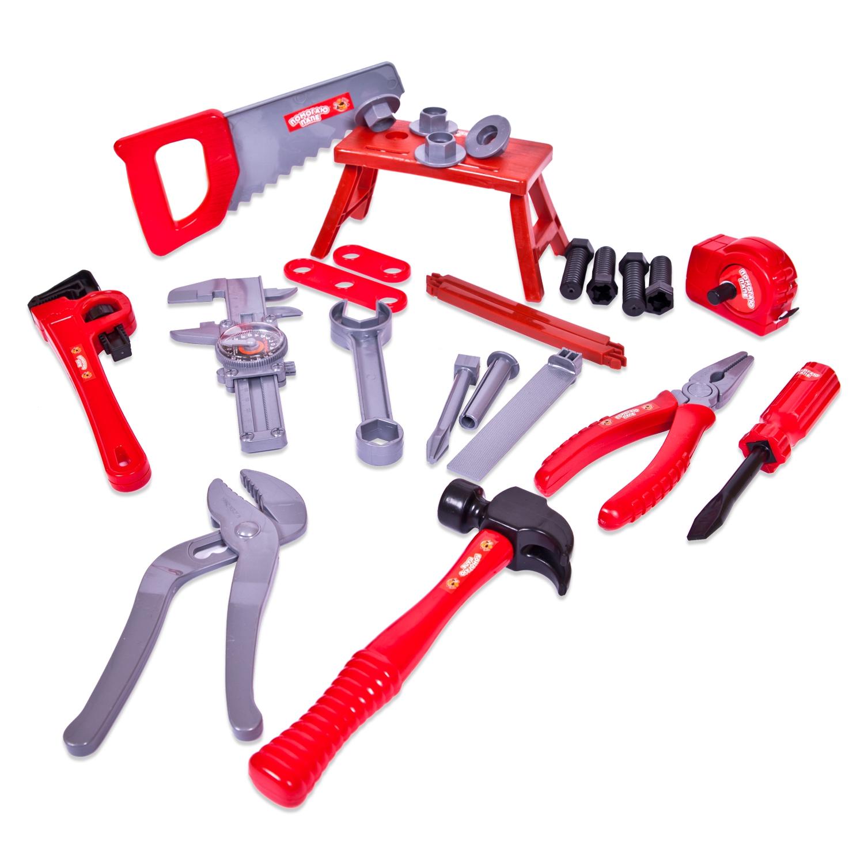 Детские наборы инструментов ABtoys Помогаю Папе abtoys помогаю папе 27 предметов в чемодане pt 00270