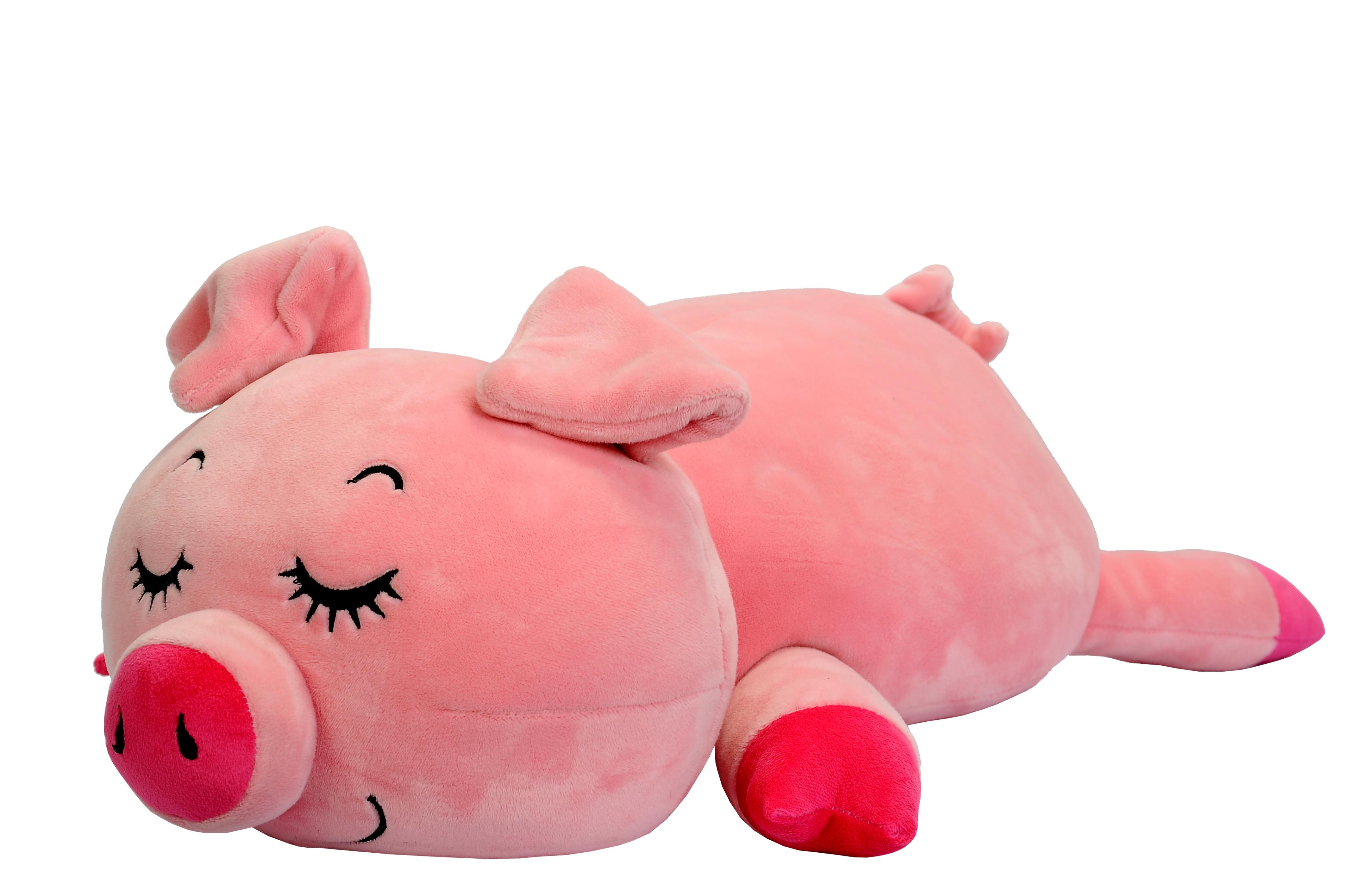 Мягкая игрушка СмолТойс «Поросенок Слиппи» 40 см мягкая игрушка поросенок 35 см