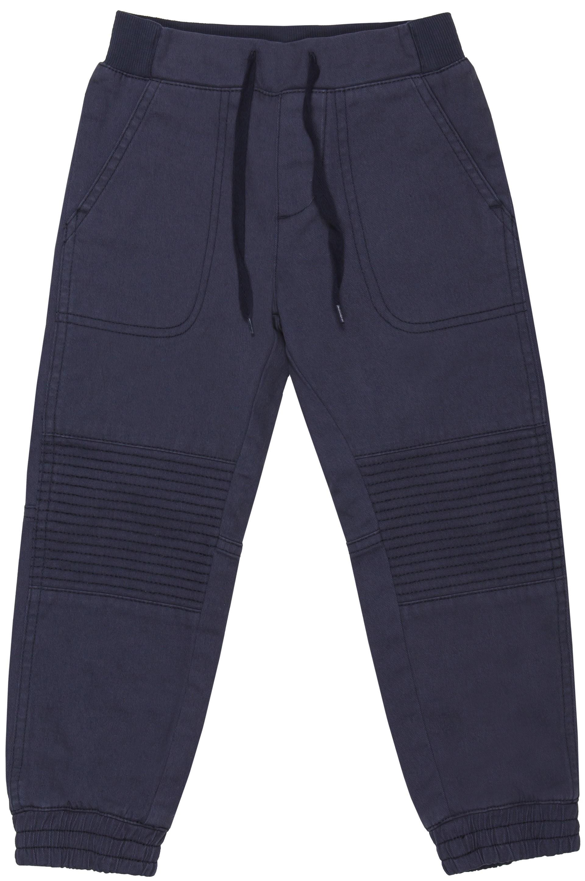 Купить Брюки для мальчика Barkito «Корабль 1», тёмно-синие, Бангладеш, тёмно-синий, Мужской