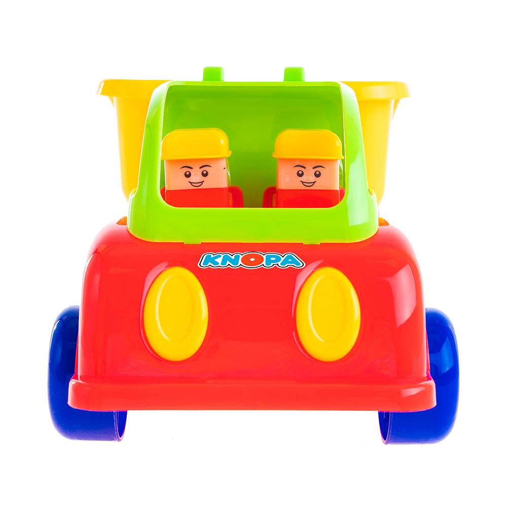 Машинка Кнопа Самосвал. Силач машины jcb малый самосвал 18 сантиметров